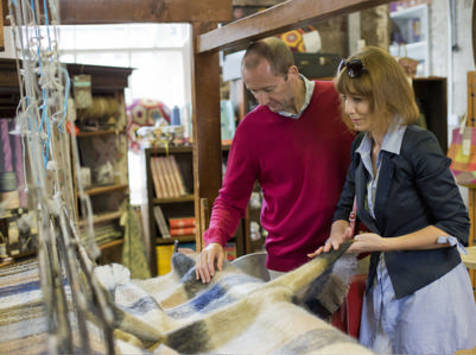 Avoca - Avoca Handweavers( © Tourism Ireland)